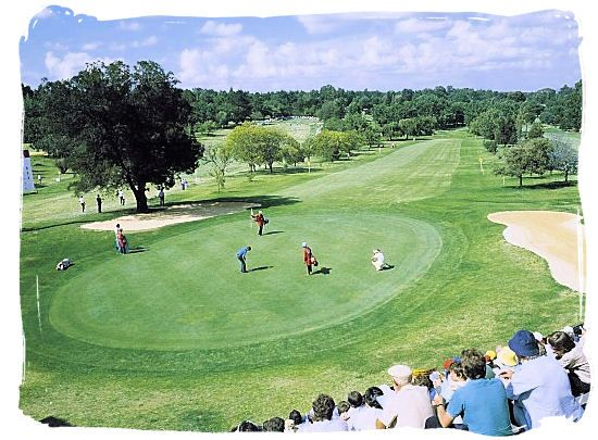 The Hans Merensky golf course situated on the border of the Kruger National Park near Phalaborwa - South Africa Sports Top Ten South African Sports