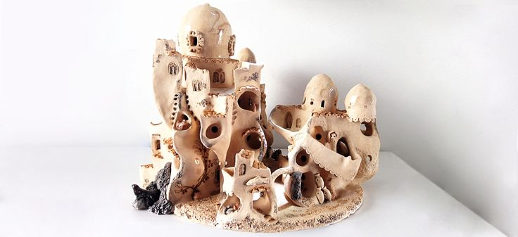 I Create Ceramic Villages Inspired By Sardinian Traditions | Bored Panda