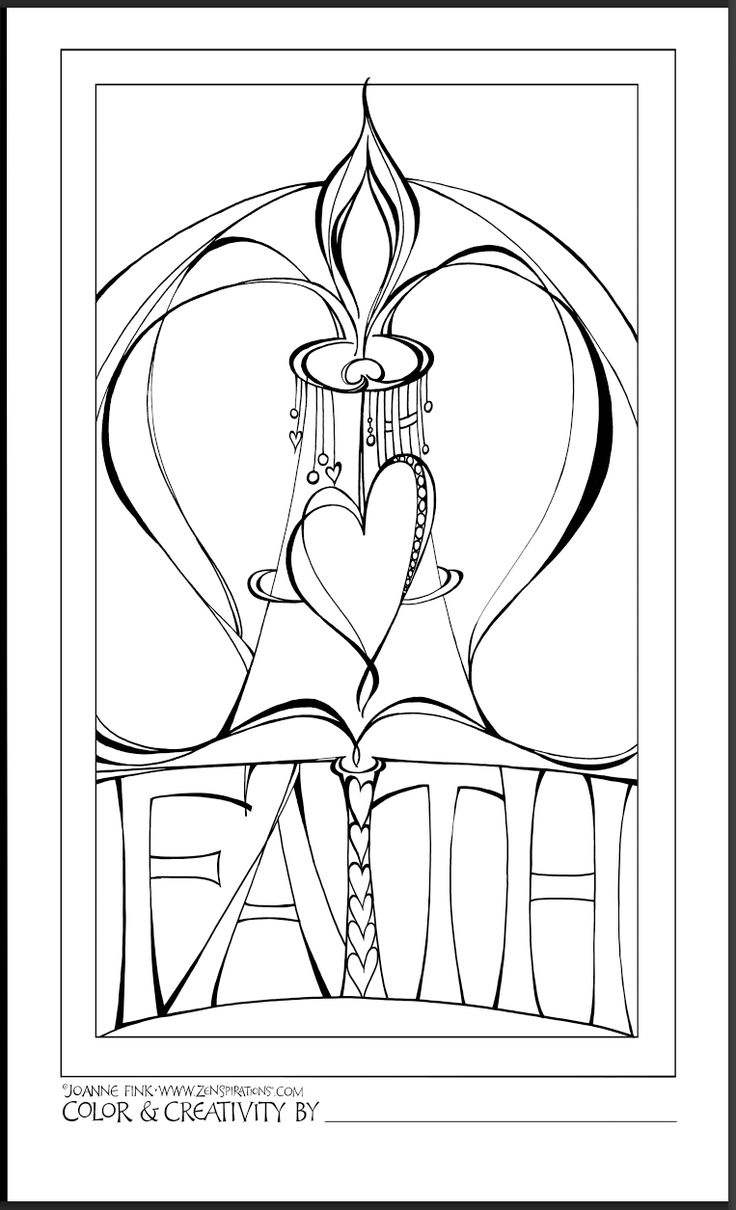 Coloring pages for lazarus and rich man - Printable Faith Coloring Page
