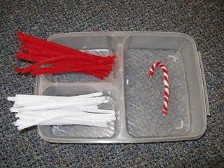 Make a candy cane