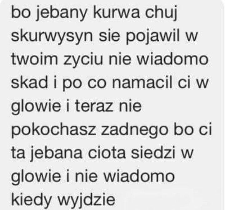 Chamskie Teksty Chamskie Teksty Pinterest Quotes Sad And