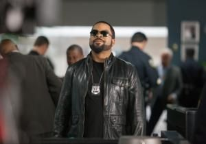 """For a guy who became famous for rapping """"F—  tha Police,"""" Ice Cube has sure played a lot of cops. He dons a badge again in the buddy comedy """"Ride Along,"""" opening Friday."""