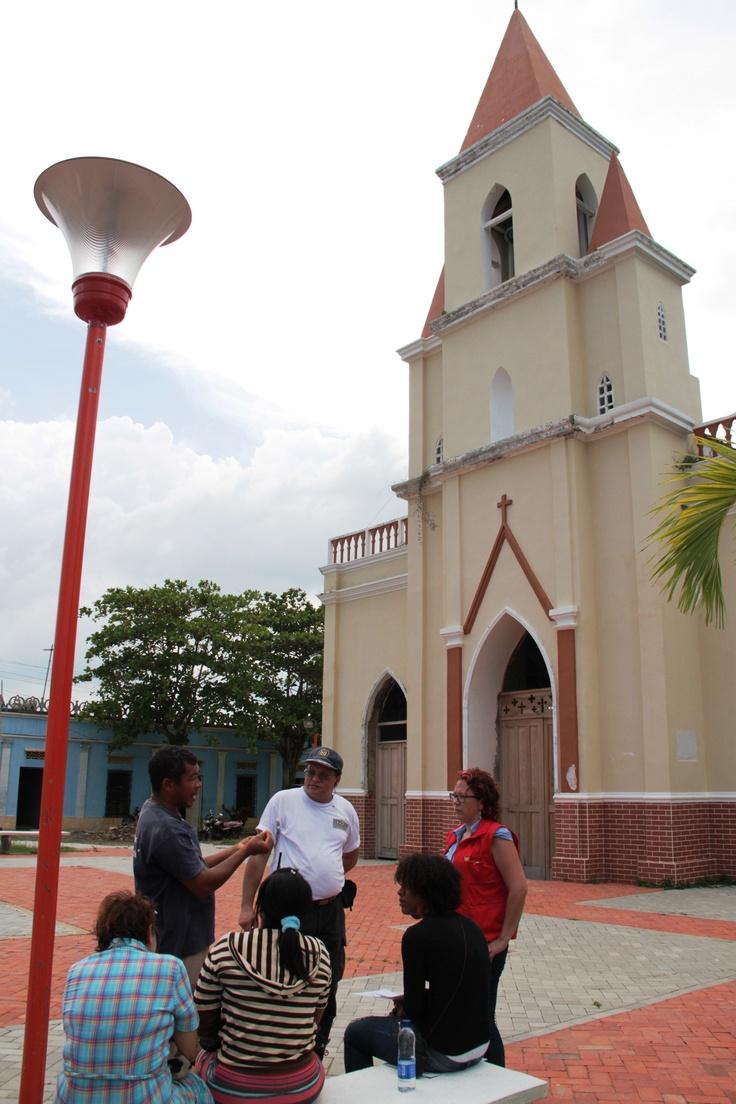 Gestión del riesgo en la iglesia La Inmaculada Concepción