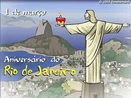 """#Dia01Março #AniversárioDoRioDeJaneiro """"Há 452 Anos """" sendo essa... Cidade Maravilhosa :-D :-D #RioEuTeAmo ♥ #oRioDeJaneiroContinuaLindo """" Fascínio Intemporal """" :O #Arte ☆ Ilustração ☆ #Contextualizando*... Niver do Rio é 20 Jan ou 1 Março ? #Dia20Jan é o Dia do Padroeiro São Sebastião.  #Dia01Mar é o Dia da chegada de Estácio de Sá à Baía de Guanabara.  #prontocontextualizei ;-) * #Contextualizar = ☆ Incluir ou Inserir um texto. É criar um Cenário para Ilustrar o que está sendo comentado…"""