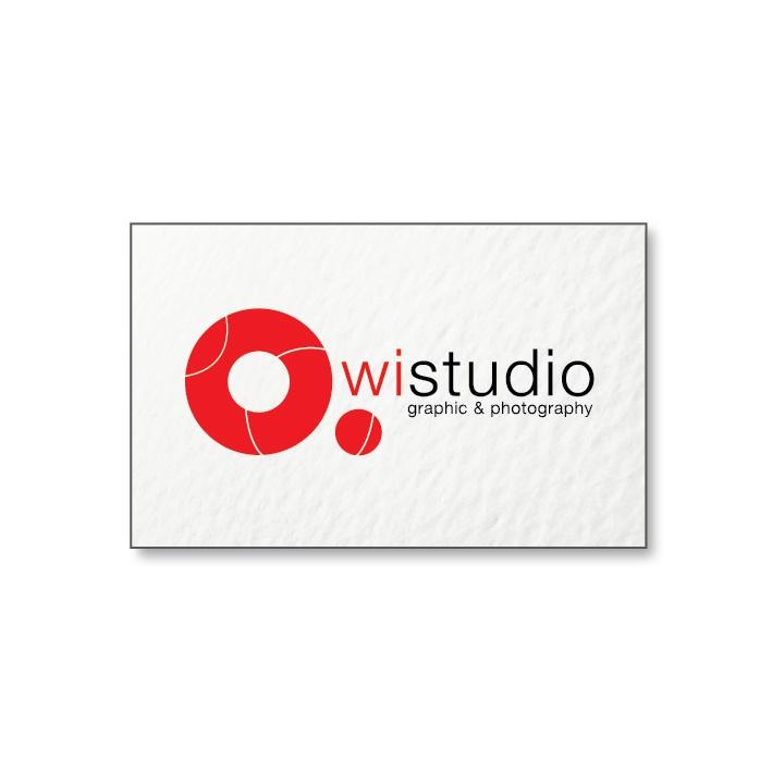 Logotyp studia fotograficznego wistudio