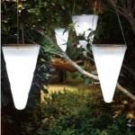 unique hanging solar lamp design