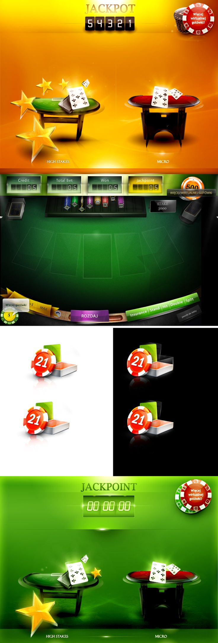 poker game interface by ~webdesigner1921 on deviantART