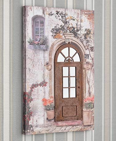 3-D Embellished Canvas Wall Art