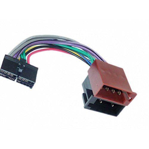 Cable adaptateur faisceau ISO pour autoradio TAKARA / FORYOU / SILVERCREST – 20 pin connecteur: Faisceau Connecteur ISO autoradio 20…