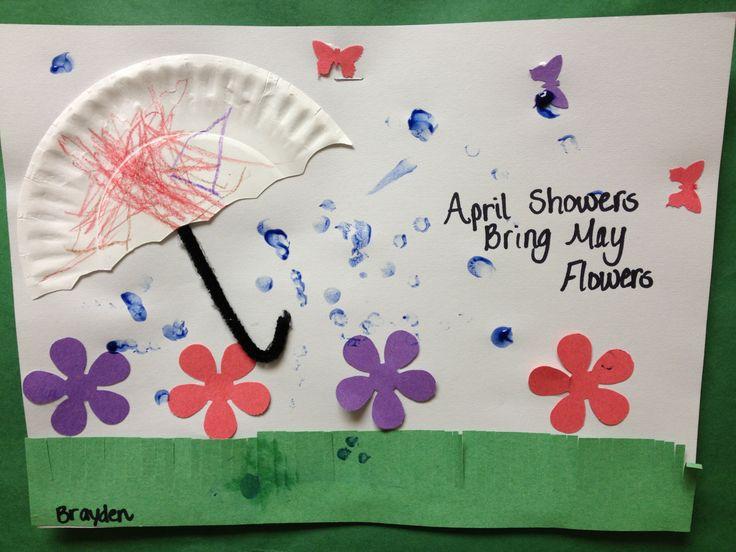 may preschool activities preschool april showers bring may flower the 326