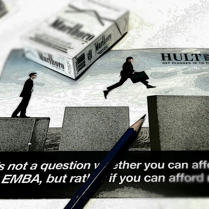 It's not a question whether you can afford to do an MBA, but rather if you can afford not to