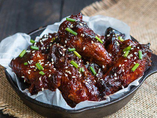 Alitas de Pollo a la Barbacoa de Piña en Olla de Cocción Lenta - Que Rica Vida