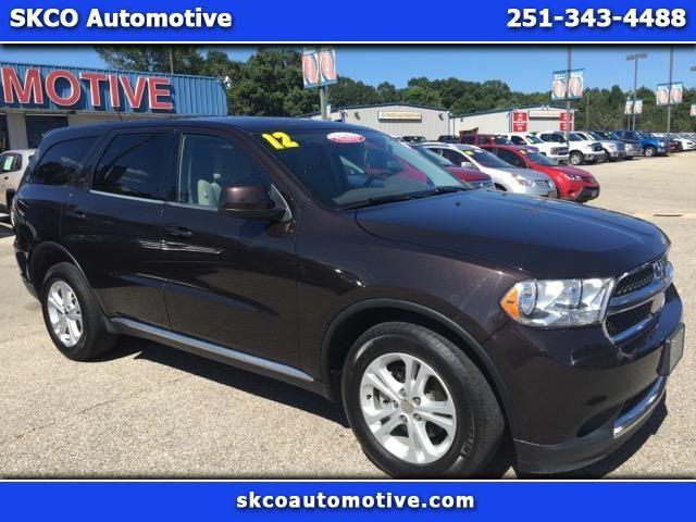 Used 2012 Dodge Durango SXT RWD for Sale in Mobile AL 36608 SKCO Automotive