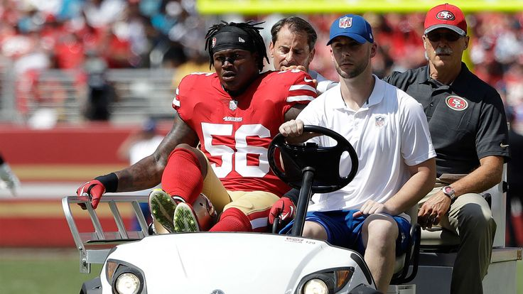 Reuben Foster making 'freak' recovery from high ankle sprain