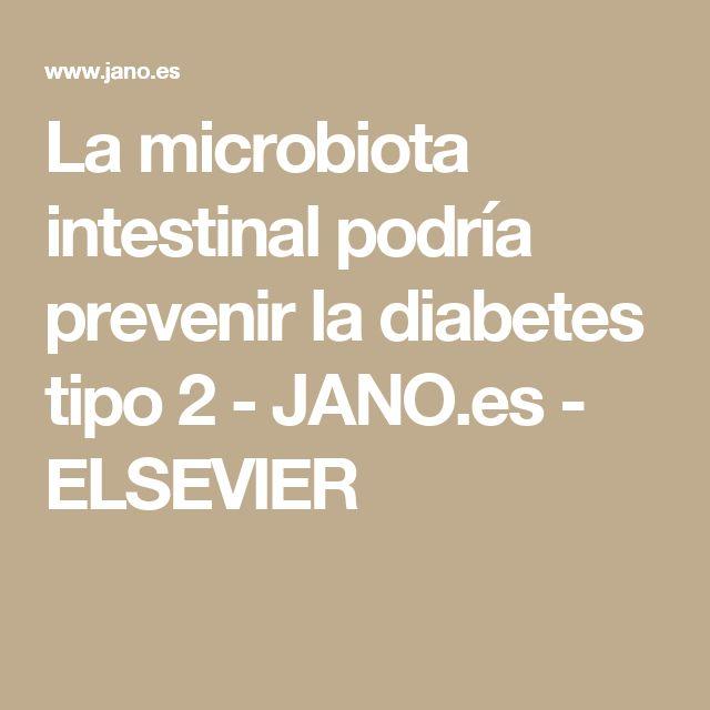 La microbiota intestinal podría prevenir la diabetes tipo 2 - JANO.es - ELSEVIER