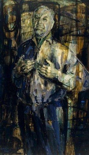 Judy Cassab's 1960 Archibald Prize-winning portrait of Stan Rapotec.