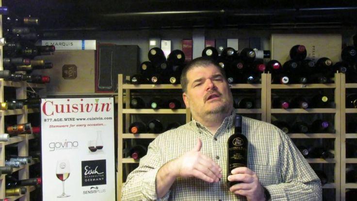Michael Pinkus' Ontario Wine Review on Peninsula Ridge 2012 Merlot - Sponsored by Cuisivin www.cuisivin.com