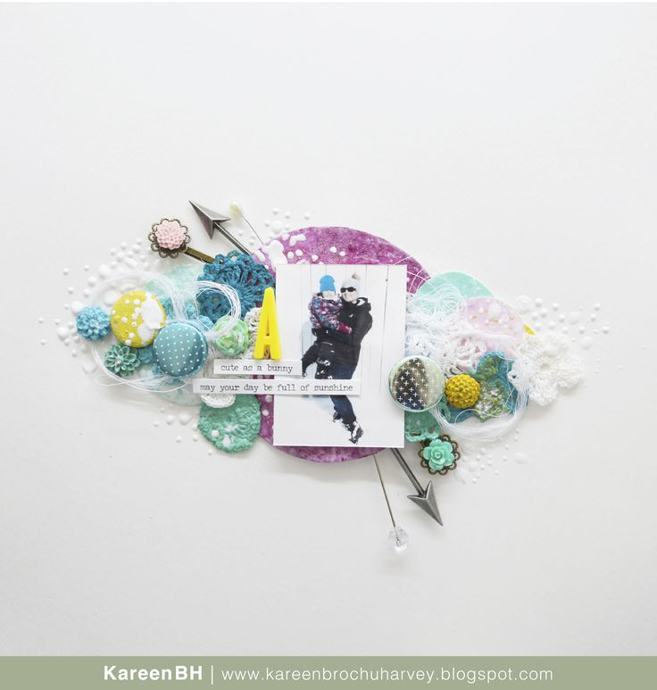 Création pour Accent Scrapbooking - Badges par KareenBH