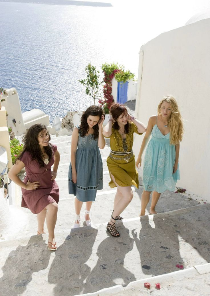 Sisterhood of the Traveling Pants- Santorini inspiration