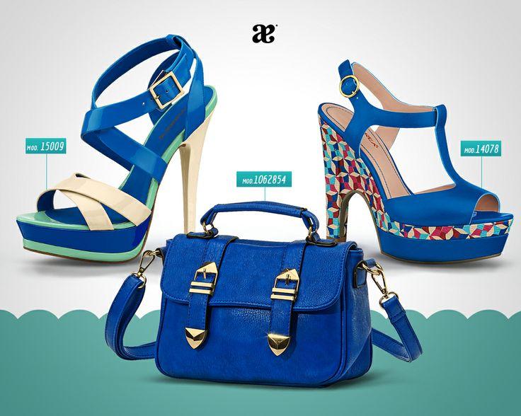 Dale a tu look  playero un toque de color #azul  #ModaAndrea