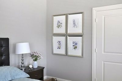 Anew Gray - Sherwin Williams  Master Bedroom