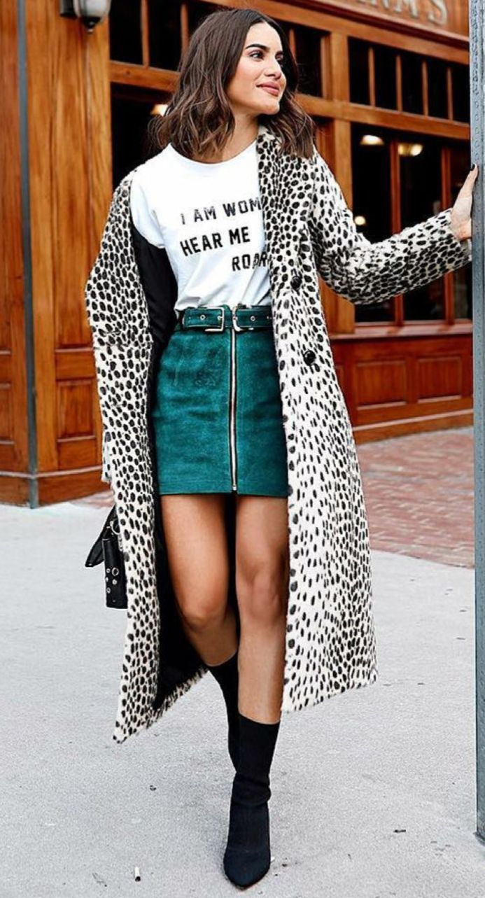 Leopard coat fashion in pinterest fashion outfits and