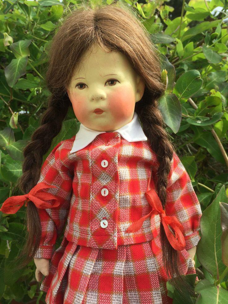 Käthe Kruse Puppe I H mit originaler Kleidung | eBay