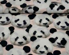 Katoen panda digitaalprint