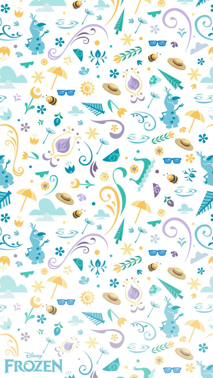 Di disney frozen wall murals - Just Like Olaf We Really Big Fans Of Summer And We Got A New Batch Of Frozen Wallpapers That Combine The Best Of Summer And Winter Together