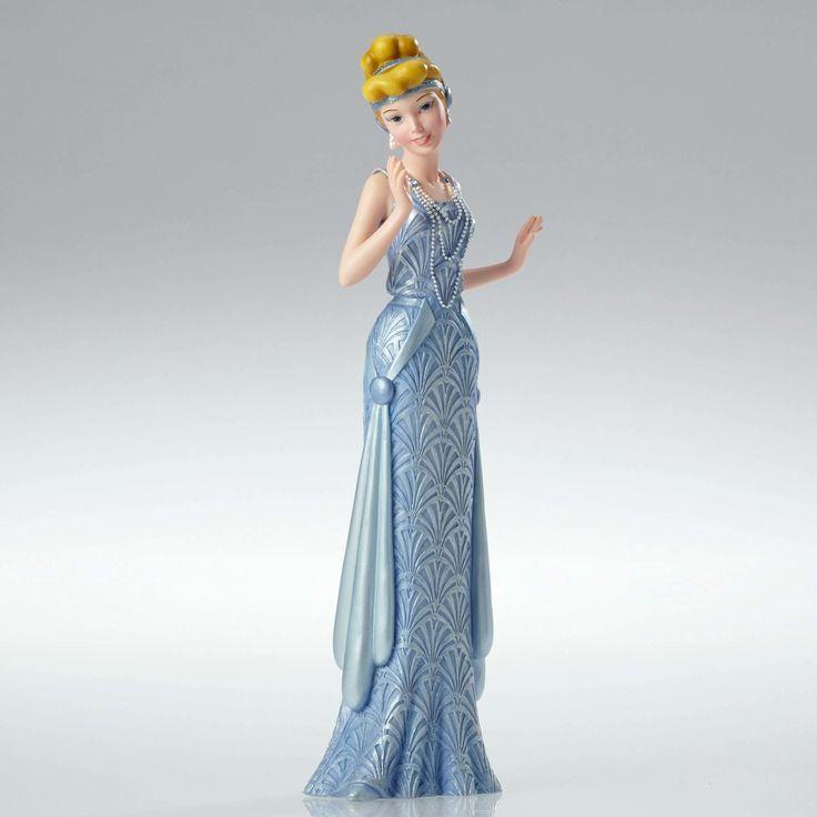 Cinderella - Art Deco Cinderella - Walt Disney Showcase Collection - World-Wide-Art.com - #disney #disneyshowcase #figurines #cinderella #artdeco