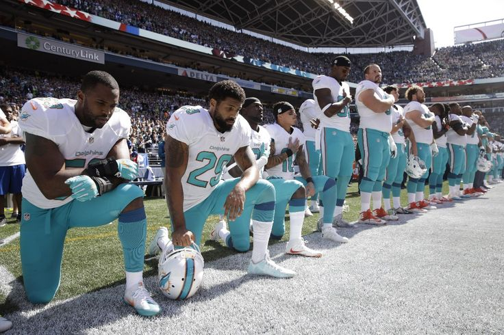 Sept. 12, 2016 - ThinkProgress.org - National anthem protest spreads as NFL kicks off season on 9/11 anniversary