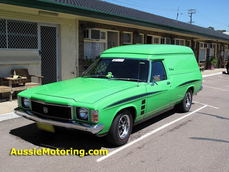 A 1976 Holden Sandman with an interesting history and some debate ... informed and otherwise ... about just which model this van really is. Click on the link to read more.