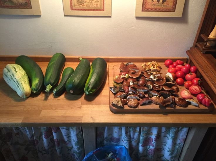 Wiejska kuchnia, własne plony