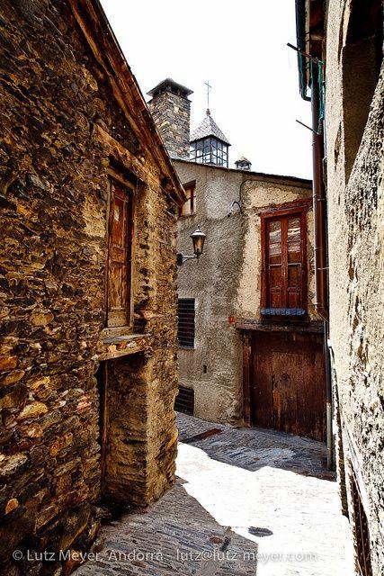 Historical center of Ordino poble, Ordino, Andorra