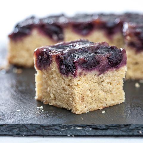 Fresh cherry upside-down cake recipe