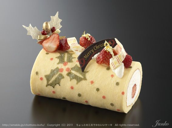 Yule Log. In Chinese?  You can use the Google Translator to view the instructions in the language of your choice. LLK :)