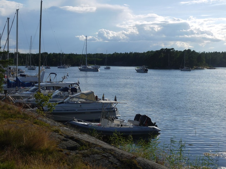 S/Y Dolphin Dance sailing blog | a Finnish Hallberg-Rassy 29 sailing in the Northern Europe: In Stockholm Archipelago: Getudden & Paradiset