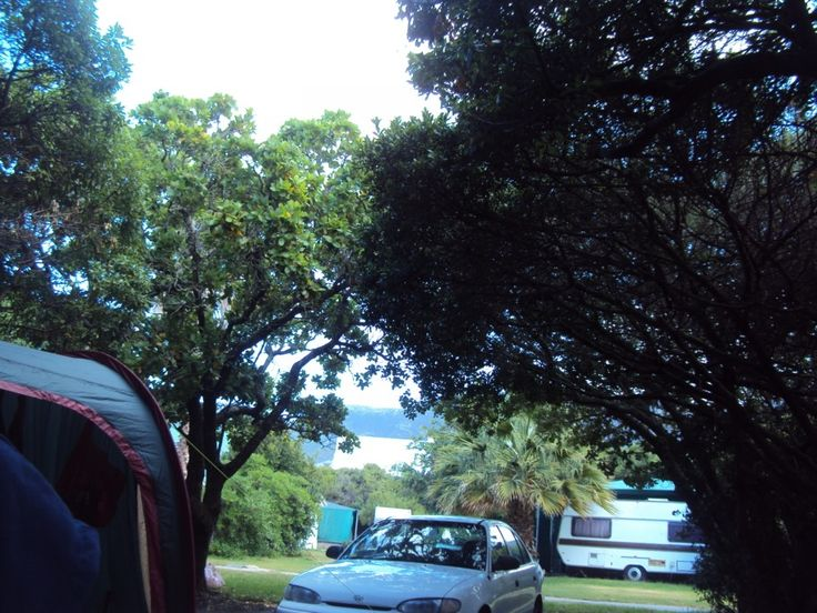 Camping at Onrus, South Africa...