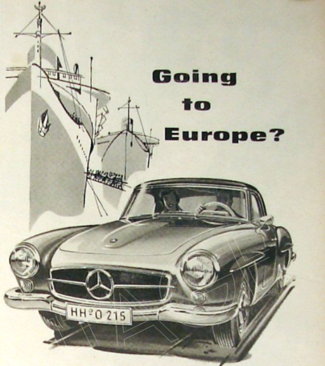"Mercedes Benz Tysons >> Mercedes-Benz ""Going to Europe?"" Ad 