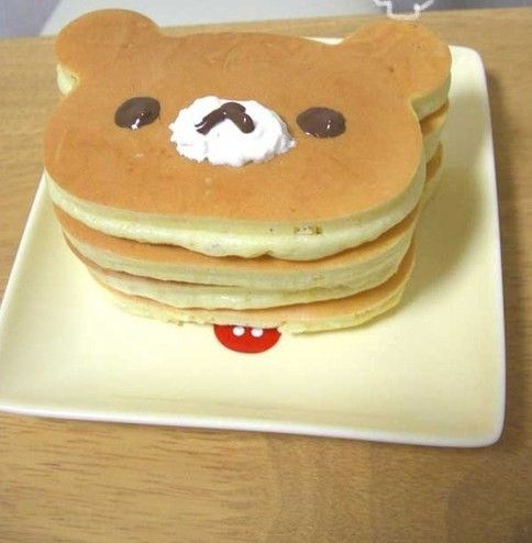 These Pancakes look soo cute! I must try making these sometime