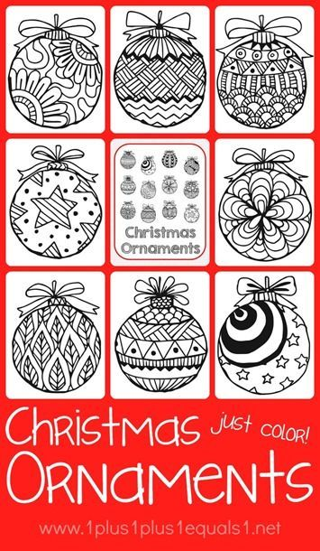 37 best images about Coloring on Pinterest Coloring, Free - best of coloring pages for a christmas tree