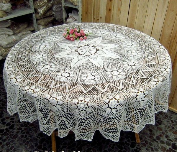 Round White Crocheted Tablecloths600 X 518205 1kb1decor