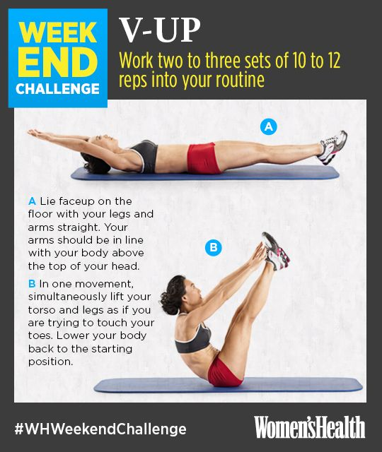 Washboard abs, here you come.