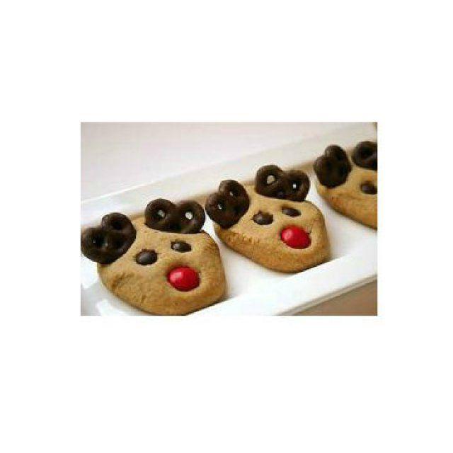 Des petits gâteaux rennes