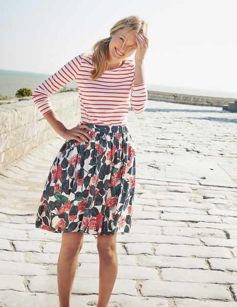 Florence Skirt - Boden. I love this whole outfit! =)