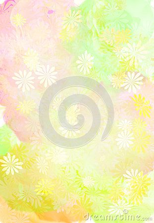 Paint flower on photoshop. Very beautiful for background and print paper.
