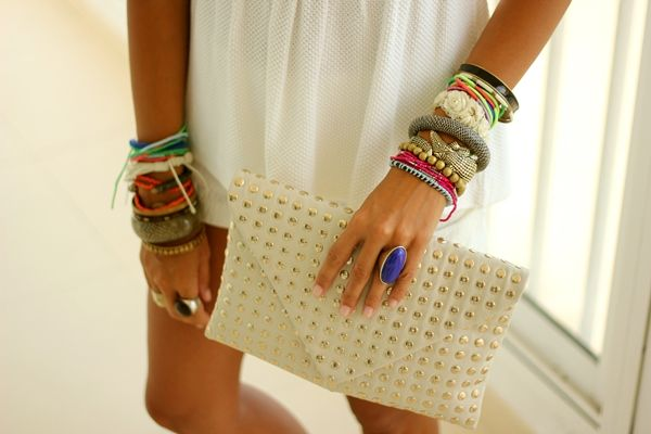 CoohuCo.: MILLIONS OF COLORS: Bracelet, Fashion, Envelope Clutch, Style, Accessories, Studded Envelope, Clutches, Jewelry, Accessories