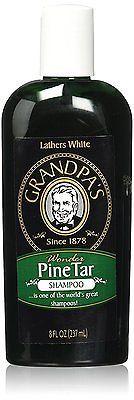 Grandpas Pine Tar Shampoo, 8 Fluid Ounce