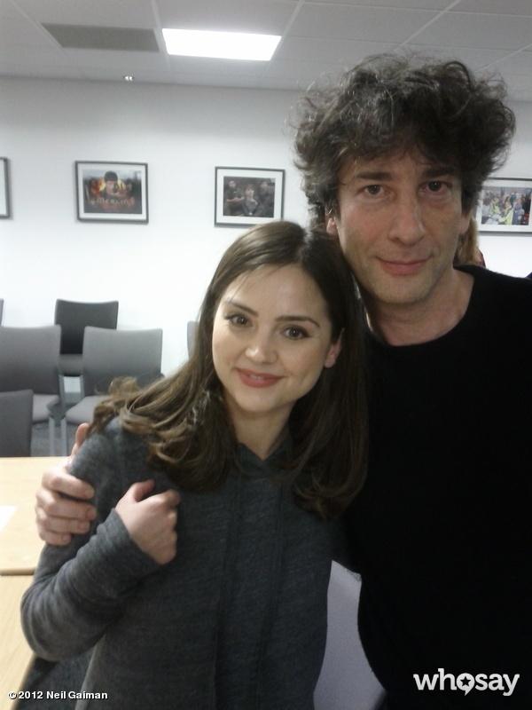 Neil Gaiman & Jenna Louise Coleman