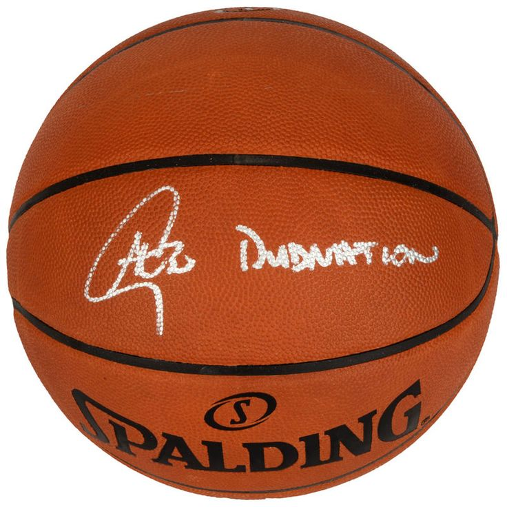Stephen Curry Golden State Warriors Fanatics Authentic Autographed Pro Leather Basketball with Dub Nation Inscription